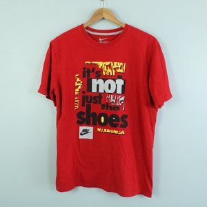 """nike """"it's not just the shoes"""" graphic t-shirt"""